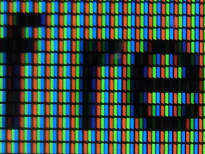 Vertically-oriented LCD pixels - details
