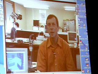 Kevin Warwick on video