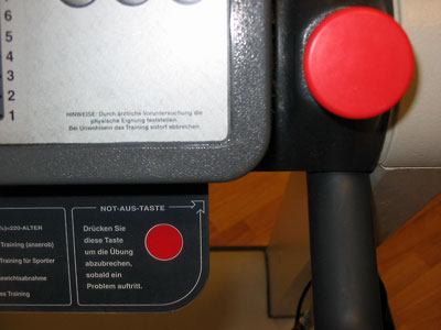 "Instruction and the ""real"" emergency button"
